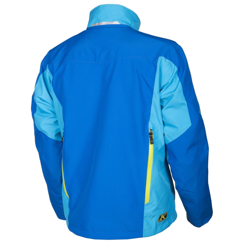 Klim Tomahawk Parka Mens Ski Snowmobile Jacket Blue//Large 3371-005-140-200