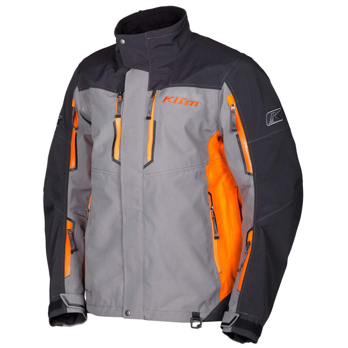 Valdez Parka Orange Front