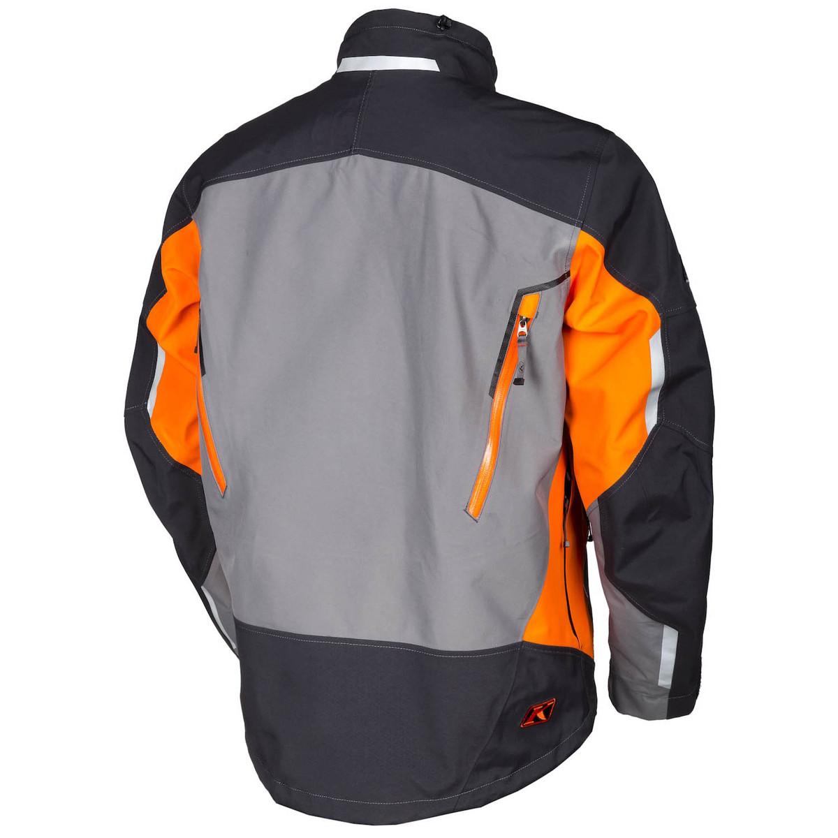 Valdez Parka Orange Back