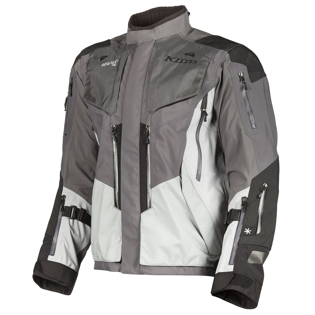 Badlands Pro Jacket Gray Front
