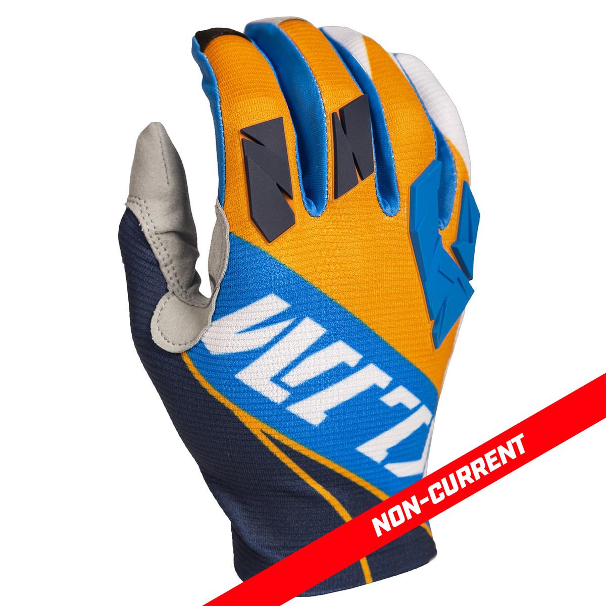 Klm XC Lite Off-Road Motorcycle Gloves Black//White//Medium