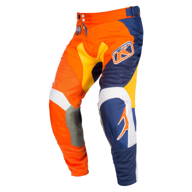 Non-Current KLIM XC Pant 36 Orange Flame