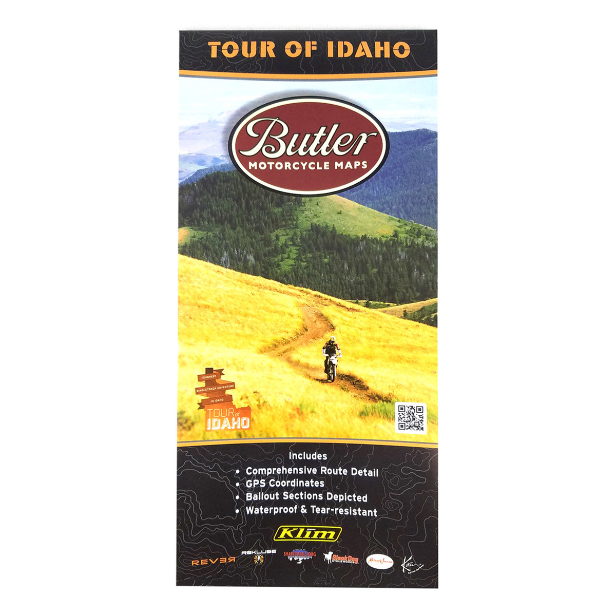 Tour of Idaho Map